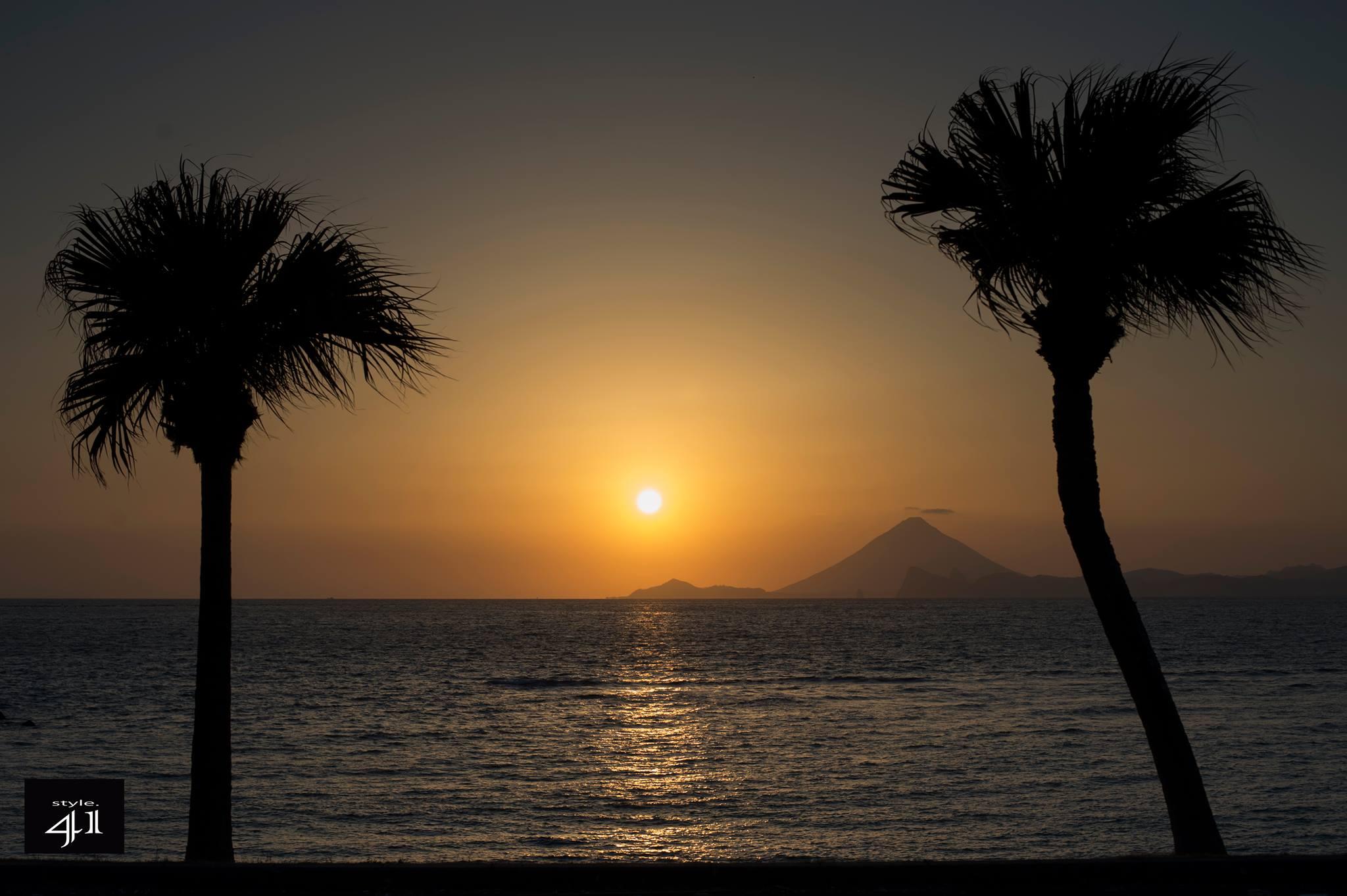 鹿児島,夕焼け,サンセット,ビーチ,sunset,beach