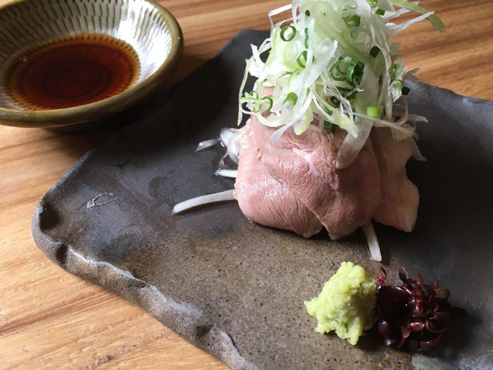 鴨わさ,鴨,天神,蕎麦,冷酒,日本酒