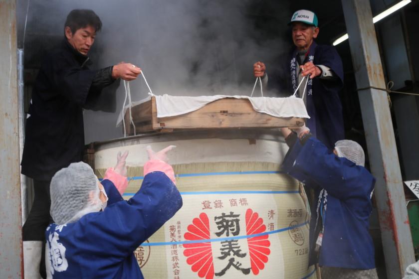 福岡,日本酒,吟醸香,菊美人酒造,蔵開き,2018