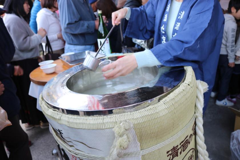 福岡,日本酒,吟醸香,玉水酒造,蔵開き,2018