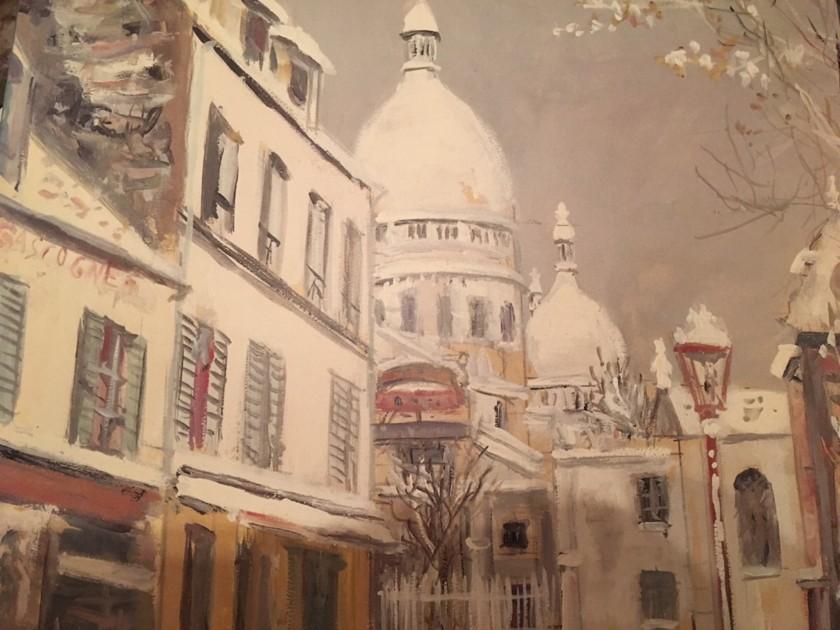 モンマルトル,Montmartre,吟醸香,モーリス・ユトリロ,maurice utrillo