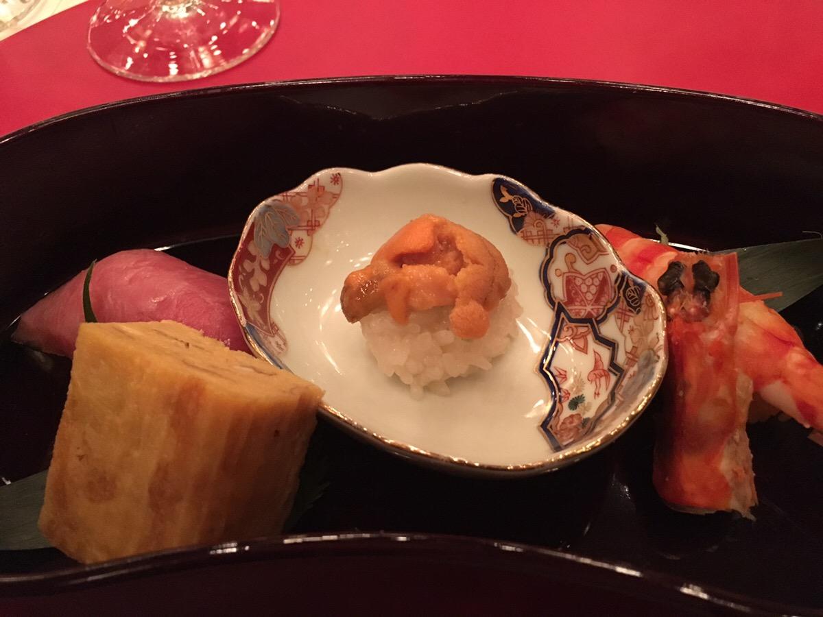 やま中,山中啄生,博多舞,鮨,寿司,日本酒