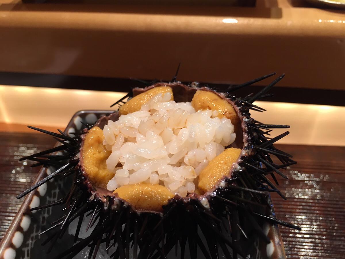 宮崎,一心鮨光洋,うに,赤黒,紫うに,にぎり鮨