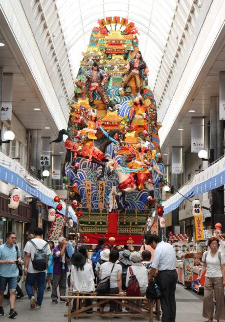 福岡,日本酒,吟醸香,山笠,飾り山笠