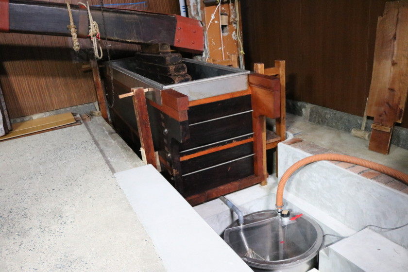 福岡,日本酒,吟醸香,搾り方,ヤブタ式,槽搾り,袋吊り