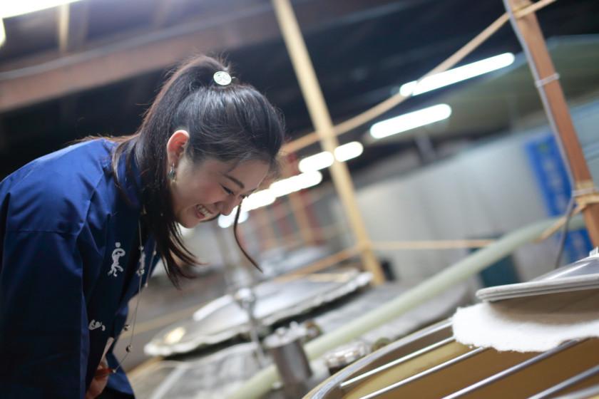 吟醸香、ミス日本酒、福岡代表、安藤彩綾、ミスユニバース