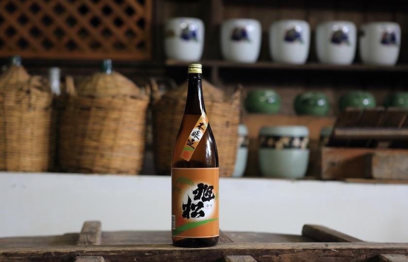 吟醸香,旭松,日本酒,黒木,大藤