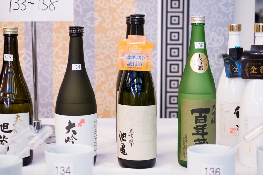 吟醸香,福岡県酒類鑑評会,池亀,大吟醸,福岡県知事賞,日本酒