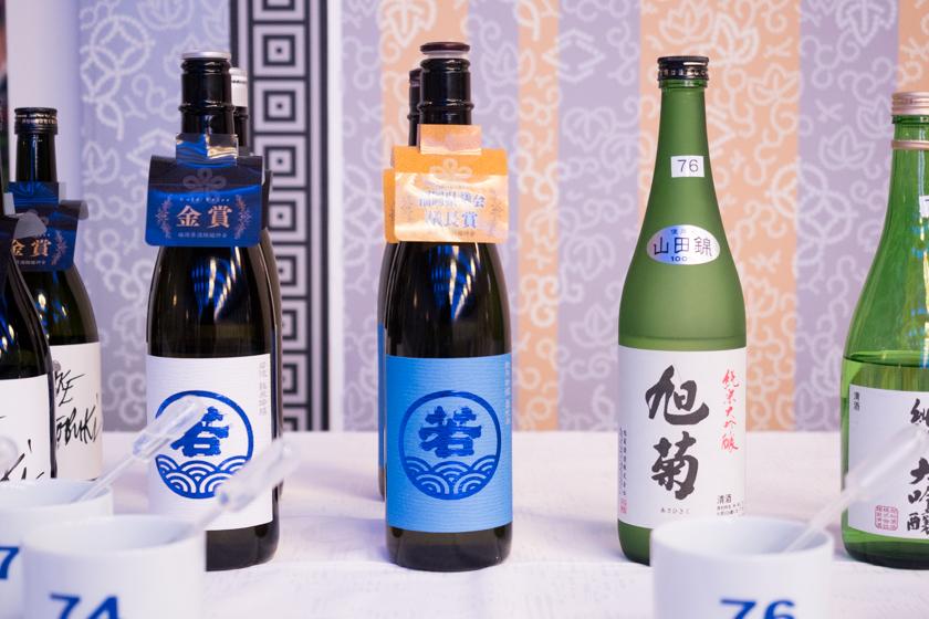吟醸香,福岡県酒類鑑評会,若波,吟醸,福岡県知事賞,日本酒