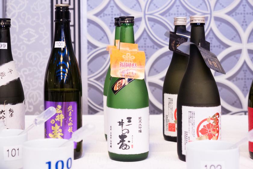 吟醸香,福岡県酒類鑑評会,福岡県知事賞,三井の寿,日本酒
