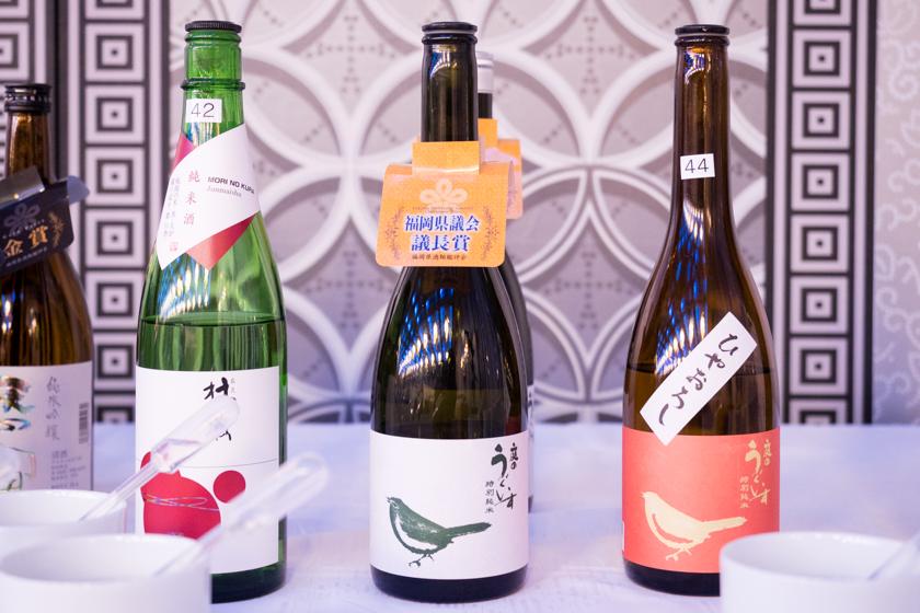 吟醸香,福岡県酒類鑑評会,庭のうぐいす,久留米,福岡県議会議長賞,日本酒