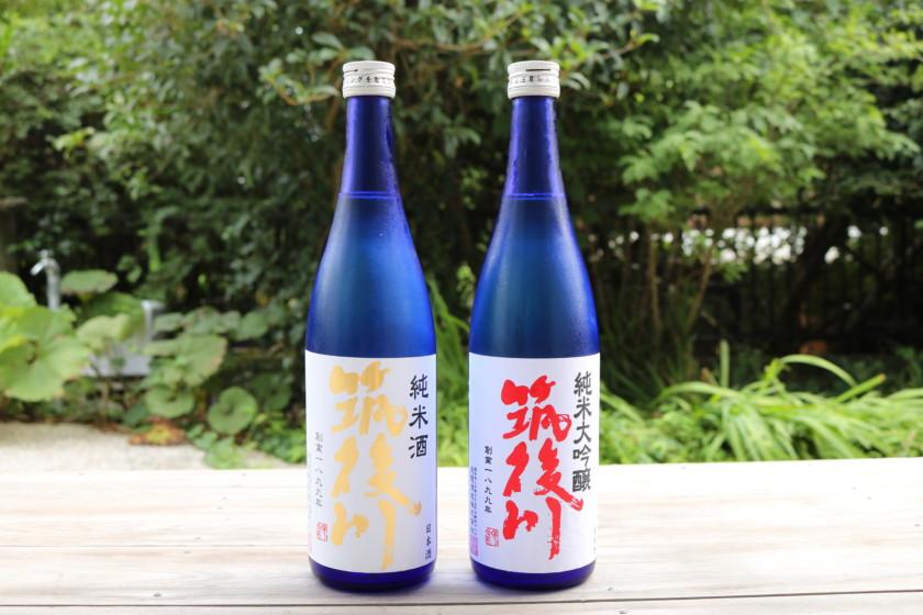 吟醸香,福岡,日本酒,飛龍酒造,筑後川,ハヤの甘露煮吟醸