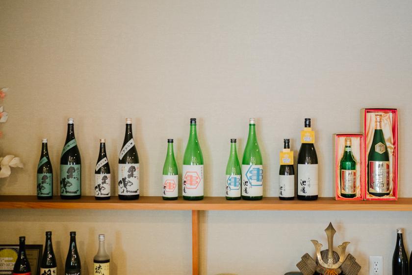 吟醸香,池亀,黒兜,黒麹,酸味,日本酒