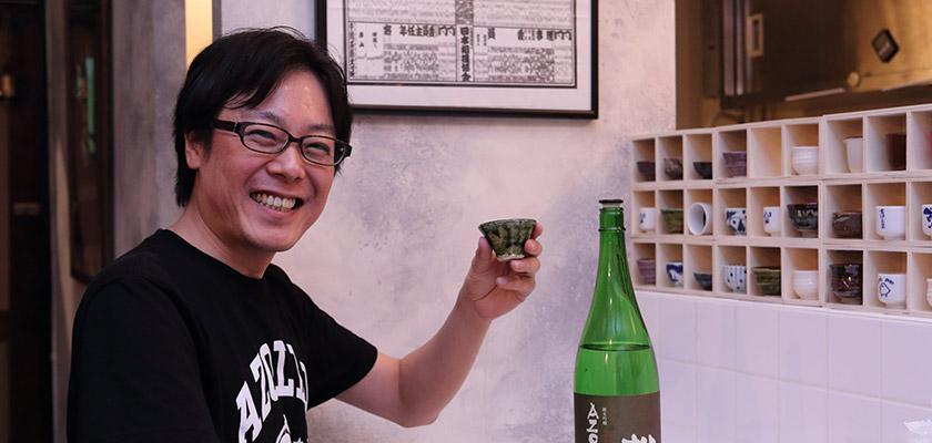 日本酒倶楽部林さん