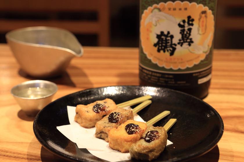 吟醸香,日本酒,蕎麦,まき野,博多,日本酒古酒