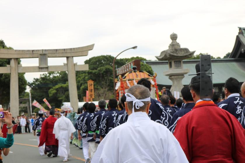 吟醸香,福岡,宗像大社,みあれ祭