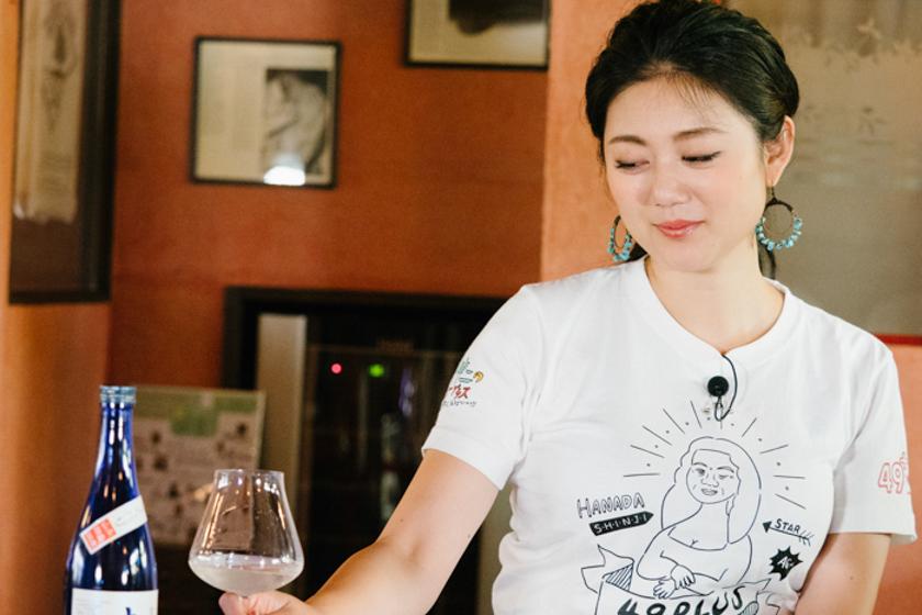 吟醸香,安藤彩綾,ミス日本酒,パーティー