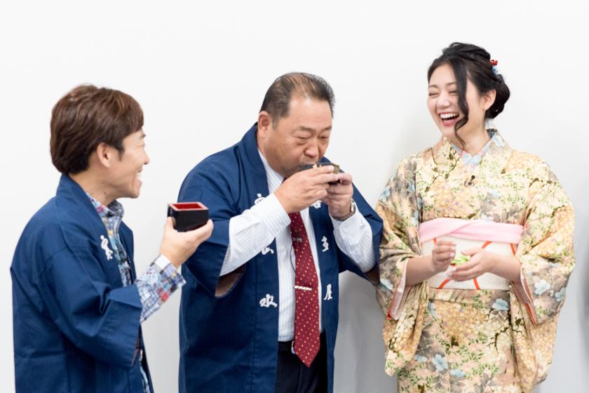 吟醸香,安藤彩綾,ミス日本酒,日本酒パーティー